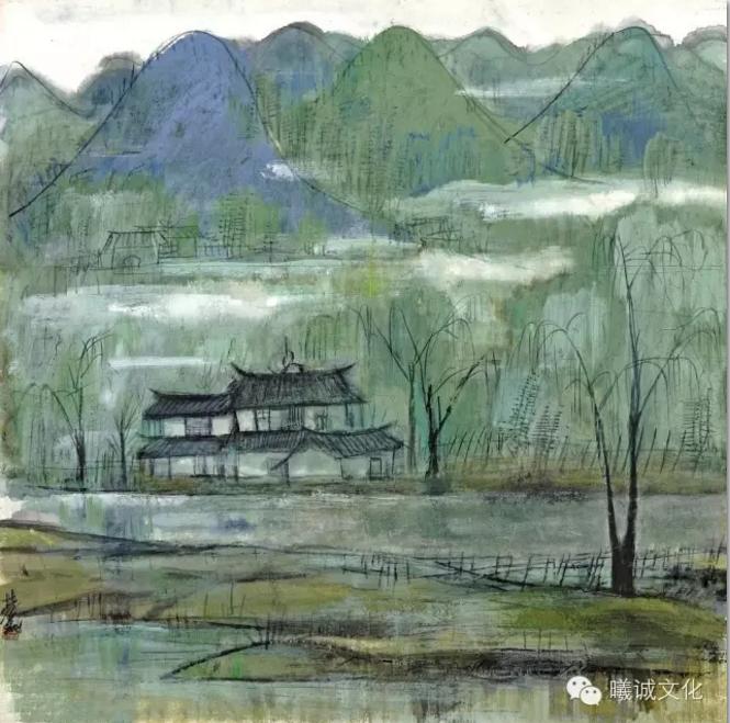 画家林风眠油画