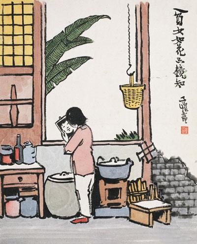 资讯动态 独家新闻 - 画家丰子恺的诗意漫画     丰子恺的画总能让