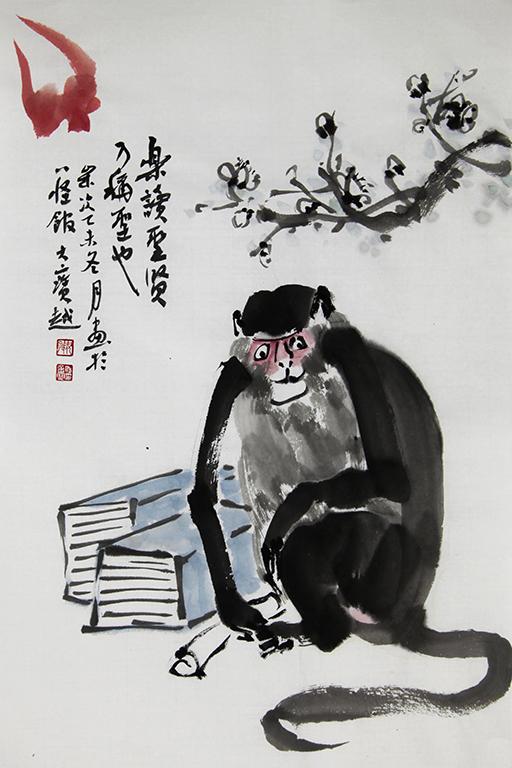 绿色风行,天下归心——画家倪悦关于天子岭环保事业