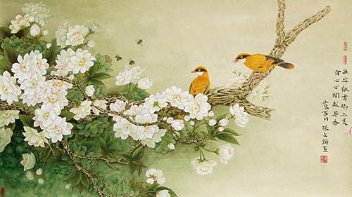 壁纸 动物 国画 花 鸟