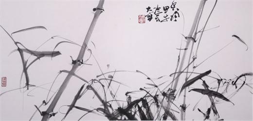 冷军先生国画作品《香风》-专访罗怀宇 我认识的冷军先生其人其画图片